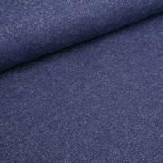 Glitzersweat dunkelblau/silber
