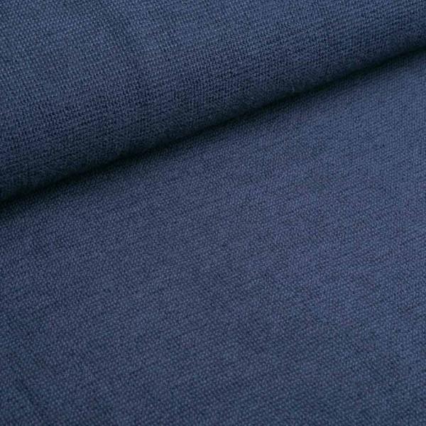 Softtouch dunkelblau Strickstoff