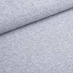 Softtouch grau meliert Strickstoff
