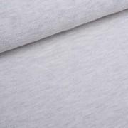 Softtouch wollweiß meliert Strickstoff