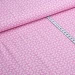 Celine Viskose Retro rosa