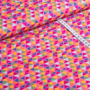 Jette pink Dreiecke Baumwolle