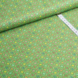 Jette grün Retro Baumwolle