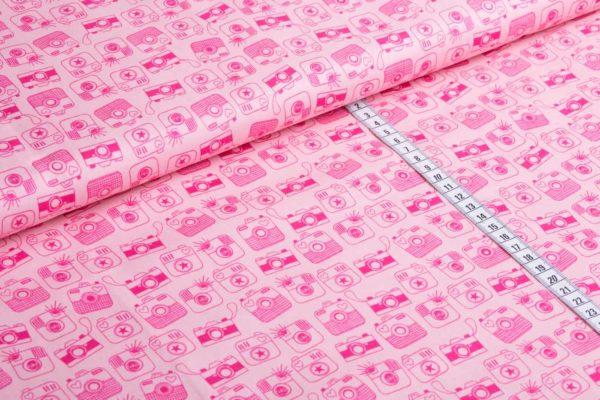 Snapshot pink Baumwolle