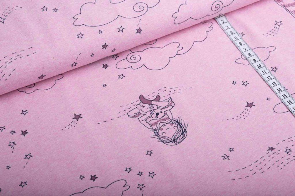 Sternentaler rosa-meliert