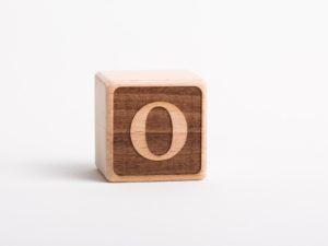 Holzwürfel O