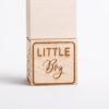 Holzwürfel Little Boy