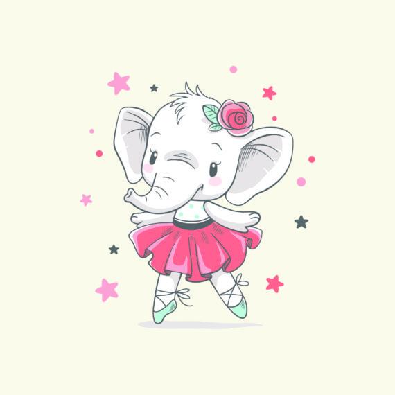 BALLERINA aus der Serie Elefantino