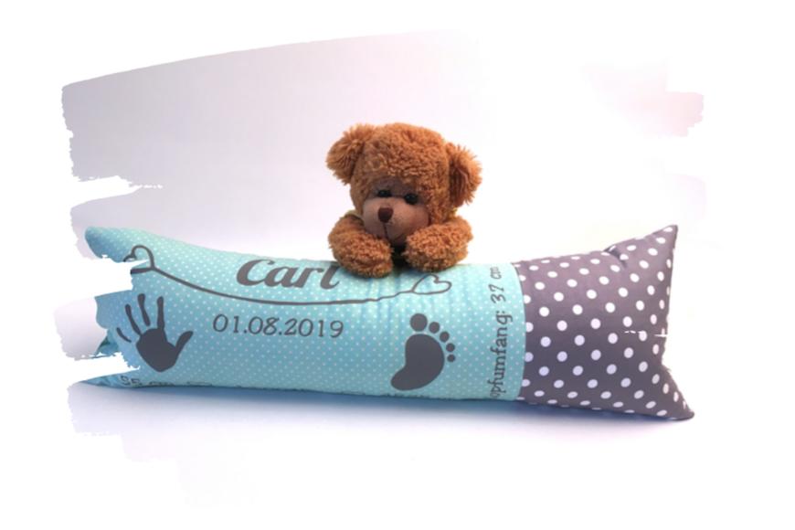 Ein süßes Erinnerungskissen für Carl